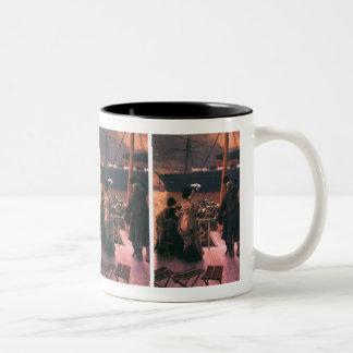 Tissot: Goodbye, on the Mersey Two-Tone Coffee Mug