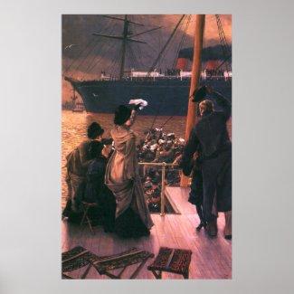 Tissot: Goodbye, on the Mersey zazzle_print