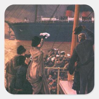Tissot: Goodbye, on the Mersey Square Sticker