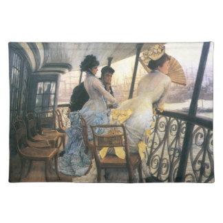 Tissot: La galería del H.M.S. Calcutta Mantel Individual