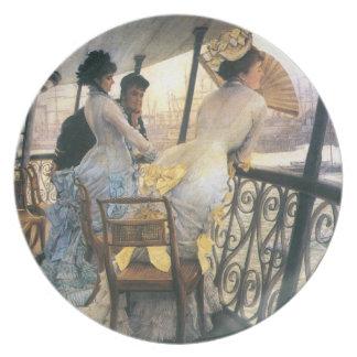 Tissot: La galería del H.M.S. Calcutta Plato