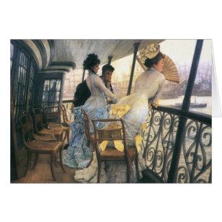 Tissot: La galería del H.M.S. Calcutta Tarjeta De Felicitación