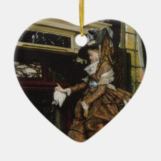 Tissot: La manera, Adorno De Cerámica En Forma De Corazón