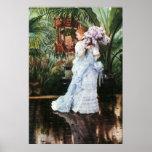 Tissot: Lilacs Print