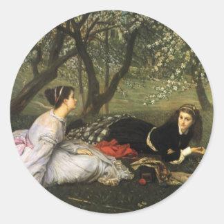Tissot: Spring Classic Round Sticker