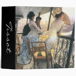 Tissot: The Gallery of the H.M.S. Calcutta 3 Ring Binder