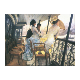 Tissot: The Gallery of the H.M.S. Calcutta Canvas Print
