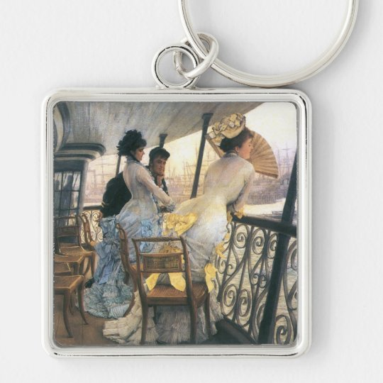 Tissot: The Gallery of the H.M.S. Calcutta Keychain