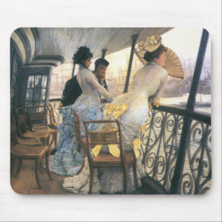 Tissot: The Gallery of the H.M.S. Calcutta Mouse Pad