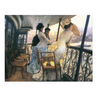 Tissot: The Gallery of the H.M.S. Calcutta Postcard