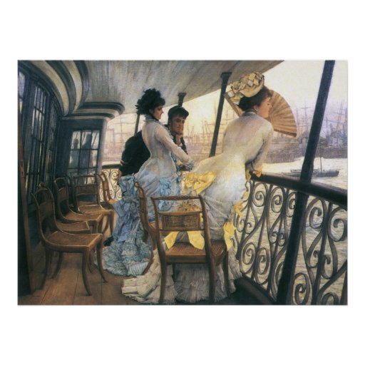 Tissot: The Gallery of the H.M.S. Calcutta Poster