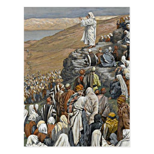 Tissot - The Sermon on the Mount Post Cards