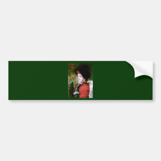 Tissot Type of Beauty Bumper Sticker