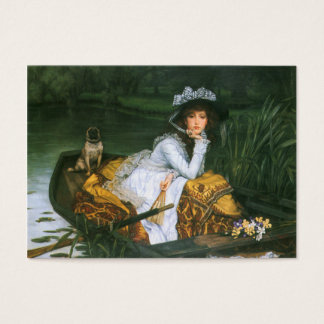 Tissot: Young Lady in a Boat Business Card