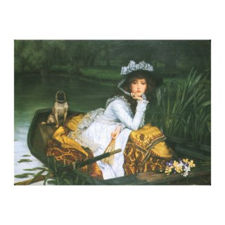 Tissot: Young Lady in a Boat