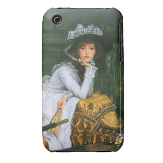 Tissot: Young Lady in a Boat Case-Mate iPhone 3 Case