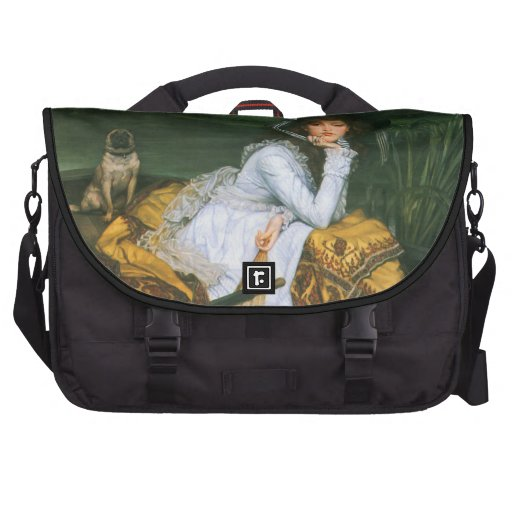 Tissot: Young Lady in a Boat Commuter Bags