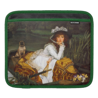 "Tissot ""Young Lady in a Boat"" iPad Sleeve"