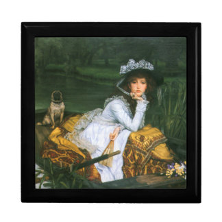 Tissot: Young Lady in a Boat Keepsake Box