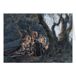 "Tissot's ""The Angel and the Shepherds"" Card"