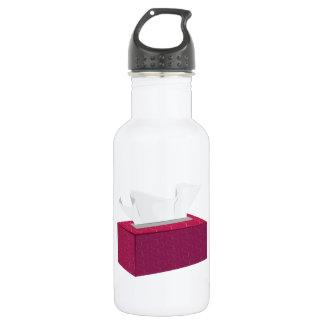 Tissue Box 18oz Water Bottle