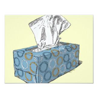 "Tissue Box 4.25"" X 5.5"" Invitation Card"