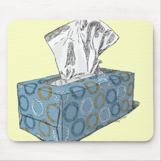 Tissue Box Mouse Pad