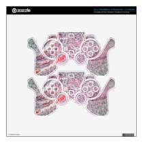 Tissue cells from a human cervix with cancer PS3 controller decal