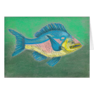 Tissue Fish note card