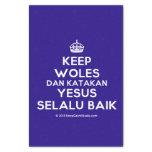 """[Crown] keep woles dan katakan yesus selalu baik  Tissue Paper 10"""" X 15"""" Tissue Paper"""