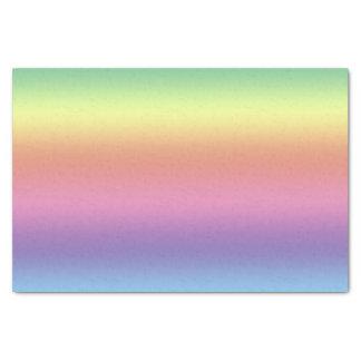 """Tissue Paper - Rainbow Stripes (hrz) 10"""" X 15"""" Tissue Paper"""