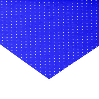 """Tissue Paper Royal Blue with White Dots 10"""" X 15"""" Tissue Paper"""