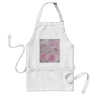Tissue Soft Roses Adult Apron
