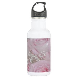 Tissue Soft Roses 18oz Water Bottle