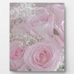 Tissue Soft Roses Plaque