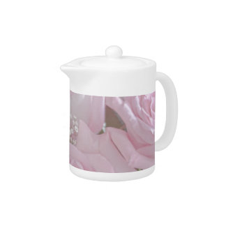 Tissue Soft Roses Tea Pot