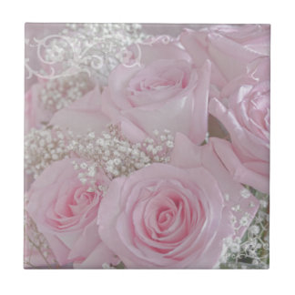 Tissue Soft Roses Tile