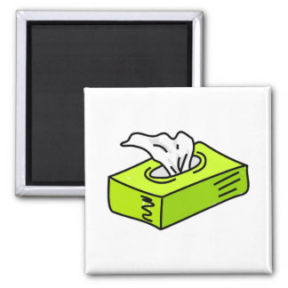 Tissues 2 Inch Square Magnet