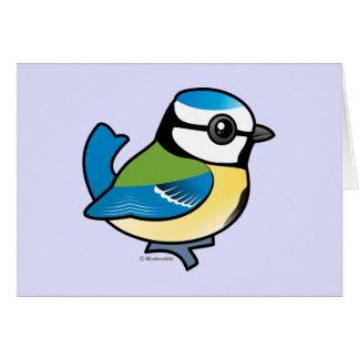 Tit azul de Birdorable Tarjeton