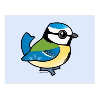 Tit azul de Birdorable Tarjeta Postal