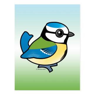 Tit azul de Birdorable Tarjetas Postales