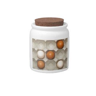 Tit Tat Toe game Candy Jars