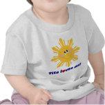 Tita me ama camiseta infantil