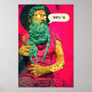 Titan Art Poster