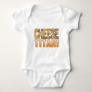 Titan Blue Cheese Baby Bodysuit