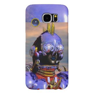 TITAN CYBORG,Blue Gem Science Fiction,Scifi Samsung Galaxy S6 Case