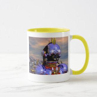 TITAN CYBORG PORTRAIT Blue Science Fiction,Scifi Mug