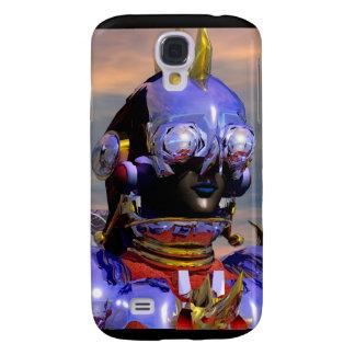 TITAN CYBORG PORTRAIT Blue Science Fiction ,Scifi Samsung S4 Case