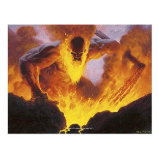 Titán del infierno postales