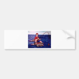 Titan fIshing Bumper Sticker